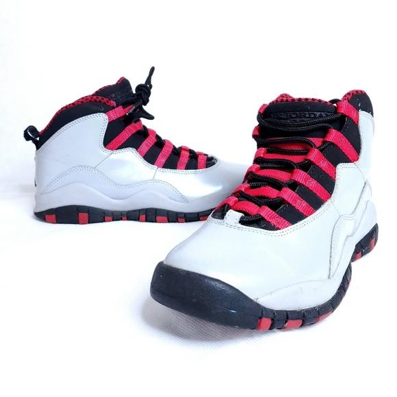new product cb9b4 7d9b2 Nike Air Jordan Grey Retro 10 Girls Size 5.5Y